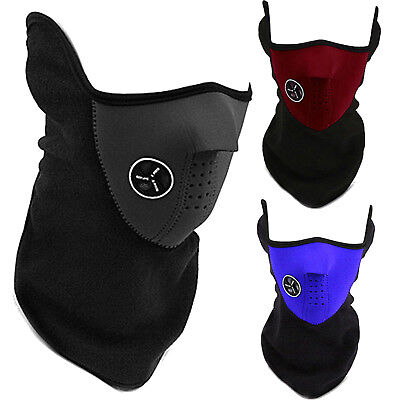 Fitness Anti Dust Motorcycle Bicycle Cycling Ski Half Face Massk Filter Scarf UK