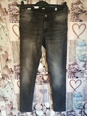 Jack Jones Boys Skinny Liam Jeans Black Size 170 15 Years