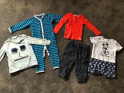 Boys Tops Pants Growsuits Country Road Seed Bonds Size 1 Size 12-18 Months