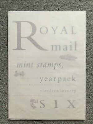 Royal Mail British Mint Stamps Year Pack 1996