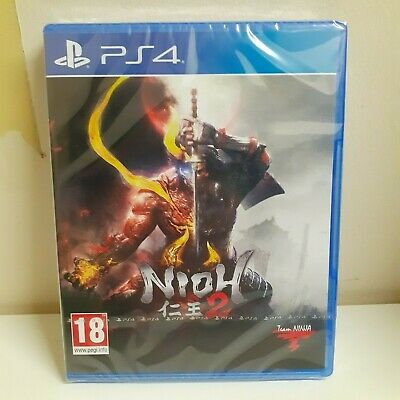 Nioh 2 PS4 Playstation 4 Game - New & Sealed Fast & Free Delivery