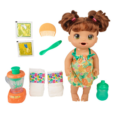 Baby Alive Magical Mixer Baby Doll Tropical Treat, Blender, Accessories, Drinks