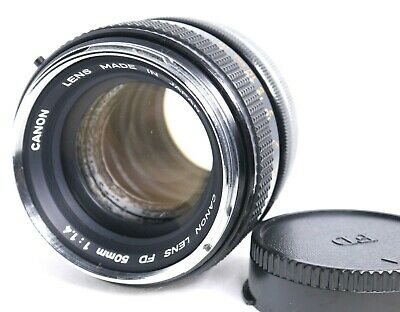 【AS IS】 Canon FD 50mm f/1.4 Lens from Japan