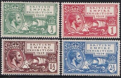 GB 1924 KGV British Empire Exhibition Essay set MNH Gummed Reproduction Stamp sv