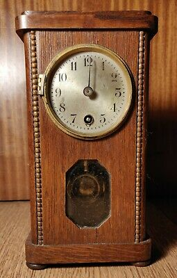 Art Deco Miniature Mantelpiece Clock. Spare & Repairs