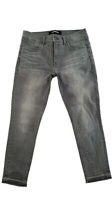 EXPRESS Ankle Denim LEGGINGS Jeans Women Size 8S Stretch Denim Perfect Fit