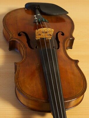 "Very old labelled Vintage violin ""Stefano Scarampella"" 小提琴 скрипка Geige 1052"