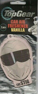Top Gear - Car Air Fresheners - The Stig - Vanilla              *New And Sealed*