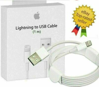 High Quality Genuine Apple1M Lightning Charger Cable iPad iPhone 11 X 8 7 6 5