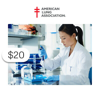 $20 Charitable Donation For: Support for Lung Health Research