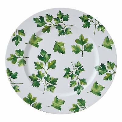 Parsley Design Table Chargers (Set of 4) Green