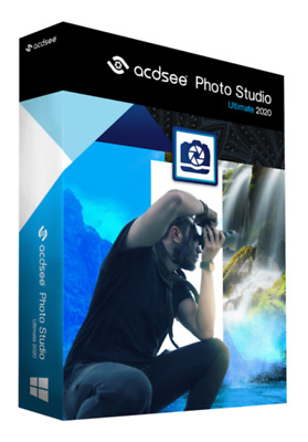 ACDSee Photo Studio Ultimate 2020 Lifetime Activation  Quick Delivery  for 3PC