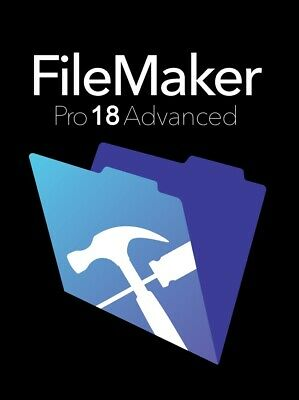 FileMaker Pro Advanced 18 for Mac/Windows Full Version Key Multilingual Fast