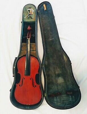 Antique Vintage Copy of Antonius Stradivarius Violin Made in Germany PROJECT