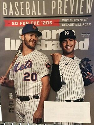 SPORTS ILLUSTRATED MAGAZINE- MLB PREVIEW SPRING 2020 - NY's FINEST
