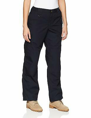 5.11 Tactical Womens Pants Dark Navy Blue Size 2 Cargo Work Taclite $60- 686