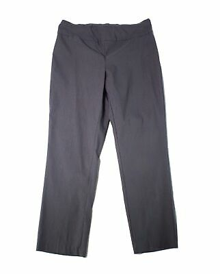 Tribal Womens Pants Charcoal Gray Size 14W Plus Pull-On Wide-Leg Stretch $66 533