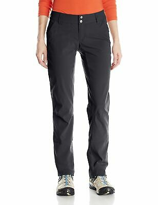 Columbia Womens Pants Black Size 6 Long Water-Stain-Resistant Stretch $60- 066