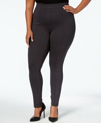 Style & Co. Womens Leggings Carbon Gray Size 24W Plus Comfort Mid-Rise $49 270