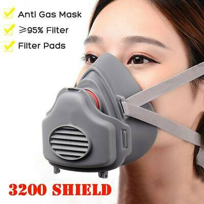 Anti Gas Shield Survival Safety Respiratory Emergency Filter Face Shield Protect