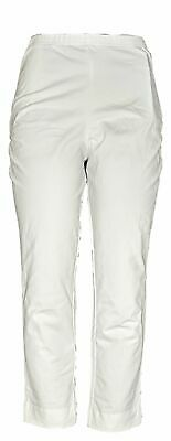 Women with Control Women's Petite Pants MP with Faux Back Pockets White A306481