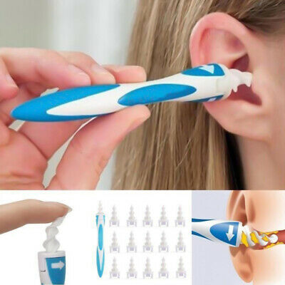 17pcs Ear Wax Removal Tool Ear Wax Cleaner Q-Grips Ear Wax Remover with 16Tips g