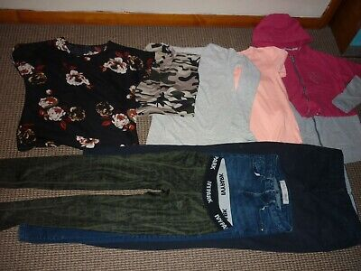 Bundle Girls Clothes age 13-14yrs Hoodie Jeans Tops Trousers  Ivy Park  Next