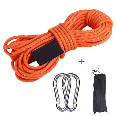 10-30m Rock Climbing Rope Outdoor Mountaineering Safety Rescue Auxiliary Cord UK