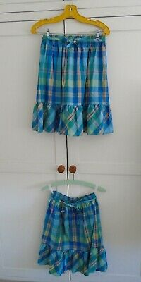 Age 11 St Michael M & S Vintage Girls Skirts x 2 Matching Twins Prairie Boho