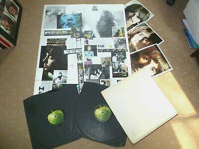 Beatles White Album MONO Top Loader UK Lp No.0286562 PMC 7607 'J' Stamper!