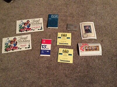 Job Lot Of Stamp Booklets And Mini Sheets
