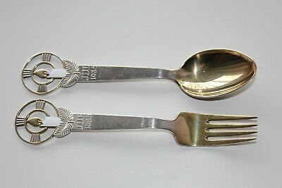 Anton Michelsen 1936 Christmas spoon and fork