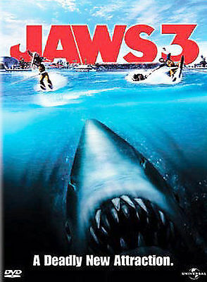 Jaws 3 (DVD, 2003) ***Brand New/Factory Sealed***
