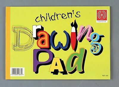1x Silvine Children's Drawing Sketch Pad 20 Pages A4 Paper Arts & Craft(REF-420)