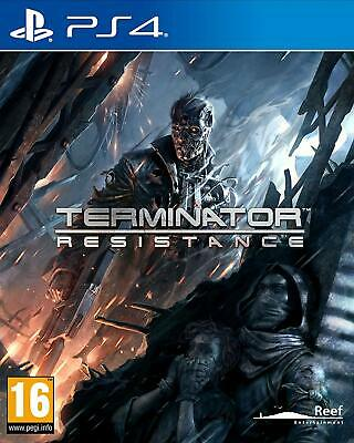 Terminator: Resistance - Sony Playstation 4 [Region Free, Tactical Shooter] NEW