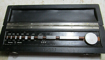 """9 Piece American Machinist Gage Block Set .0625 to 2""""  Made in Germany - Gauge"""