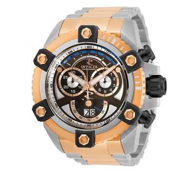 Invicta Reserve Grand Octane Men's 63mm Rose Gold Swiss Chronograph Watch 31418