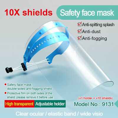 10x Full Face Cover Mask Shield Anti Dust Work Mask Safety Eye Protection Guard!