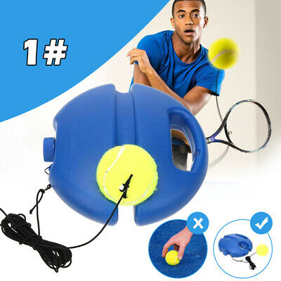 Tennis Trainer Tennis Practice Single Self-Study Training Tool 2 Styles