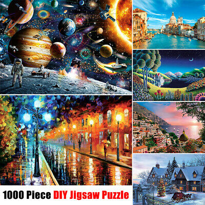 Puzzle Adult 1000 Piece Large Wooden Jigsaw Decompression Game Toy Gift