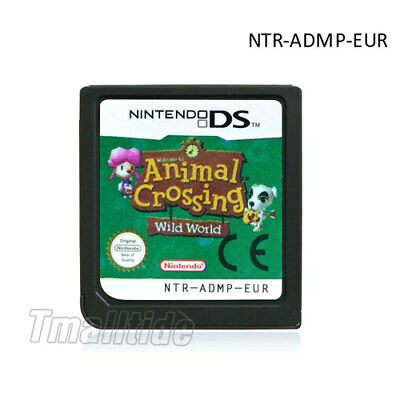 Animal Crossing: DS 3DS NDSi NDS Game Card  Wild World  (Nintendo DS,2005) für