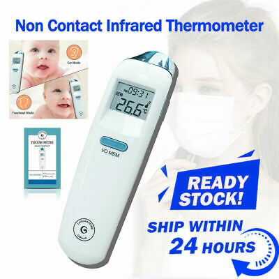 Temp Meter Handheld Temperature Gun Noncontact Digital IR Laser Thermometer