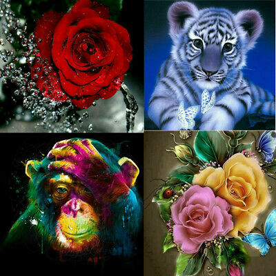5D DIY Diamond Painting Embroidery Cross Stitch Pictures Arts Draw Gifts Decora