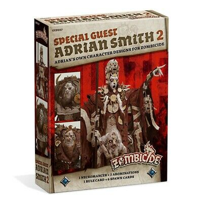 Zombicide - Black Plague: Special Guest Box - Adrian Smith 2 ITALIANO Asmodee