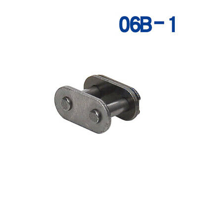 """#35 Roller Chain Connecting Link Full Buckle,For 06B-1 3/8"""" 9.525mm Roller Chain"""