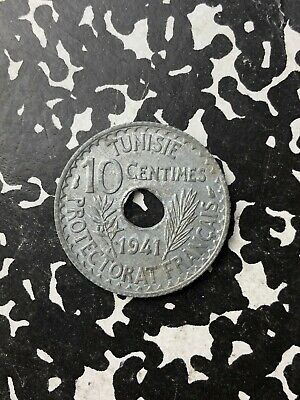 1941 Tunisia 10 Centime (Many Available) High Grade (1 Coin Only)