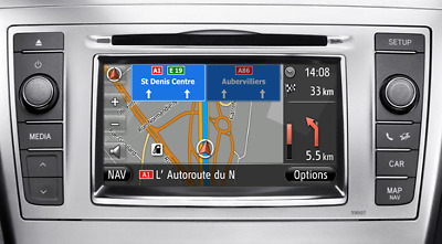Toyota Touch & Go Map Update