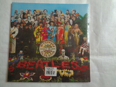 the beatles ( Sgt peppers lonely heart club band ) album parlophone sealed