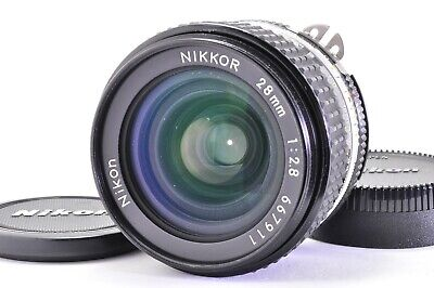 (Excellent +++++)NIKON AI-S NIKKOR 28mm f/2.8 MF SLR Lens  From JAPAN A292