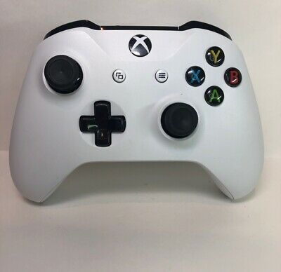 Official Microsoft Xbox One S X Windows Wireless Bluetooth Controller White